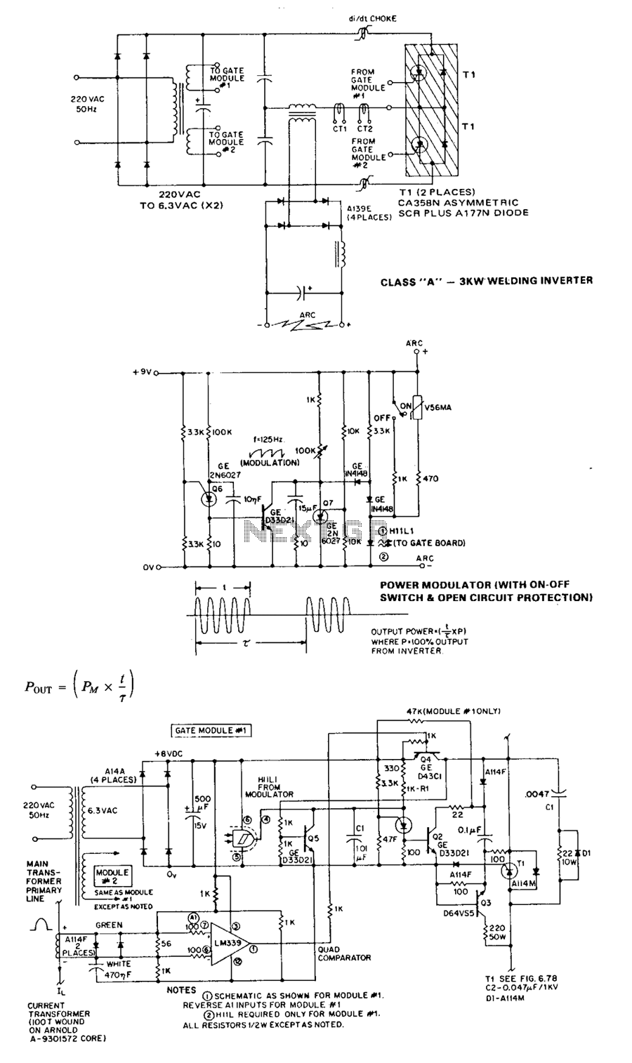 welding circuit diagram schematic