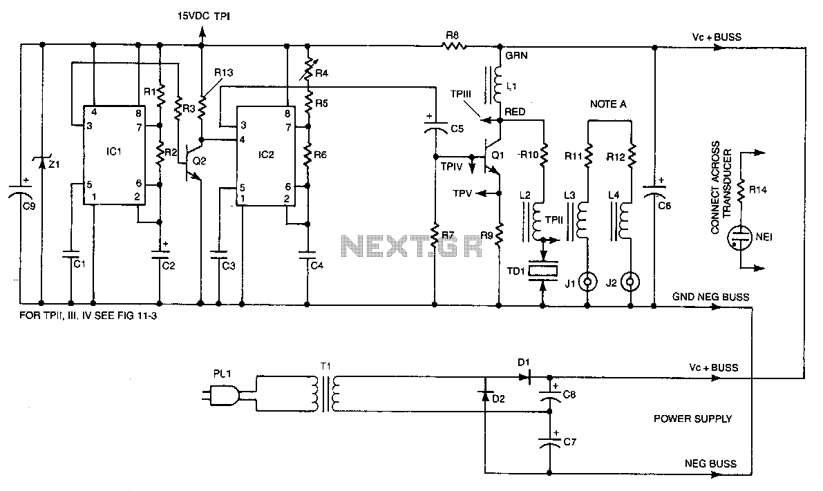 Ultrasonic Circuit Audio Circuits Page 2 Nextgr Pulsed Pest Controller