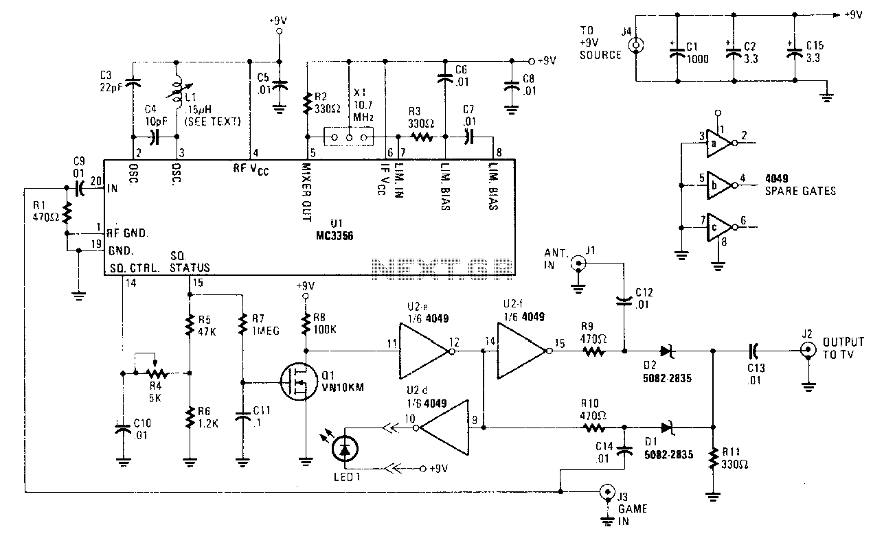 Results Page 5 About 5v Fet Searching Circuits At Active Microphone Preamplifier Using Lf356 Automatic Video Switch