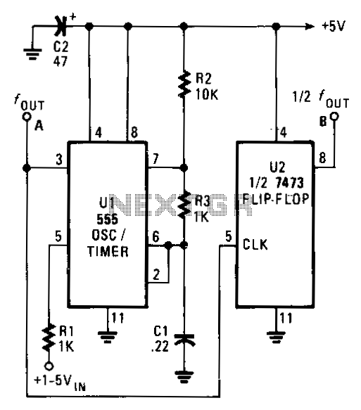 Simple-vco - schematic