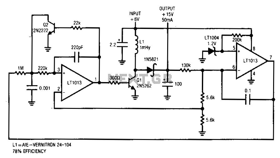 Regulated-driven-converter