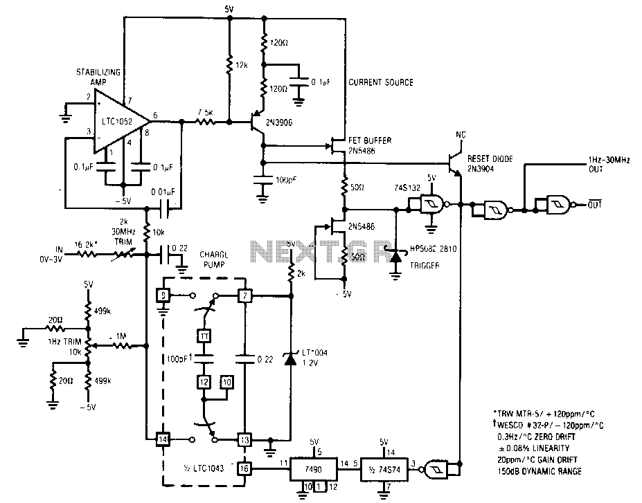 Voltage-to-requency-converter