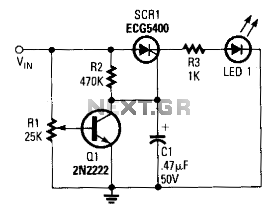 Low-voltage-indicator - schematic