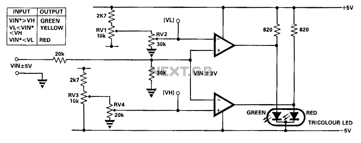 Simplified-voltage-level-sensor - schematic