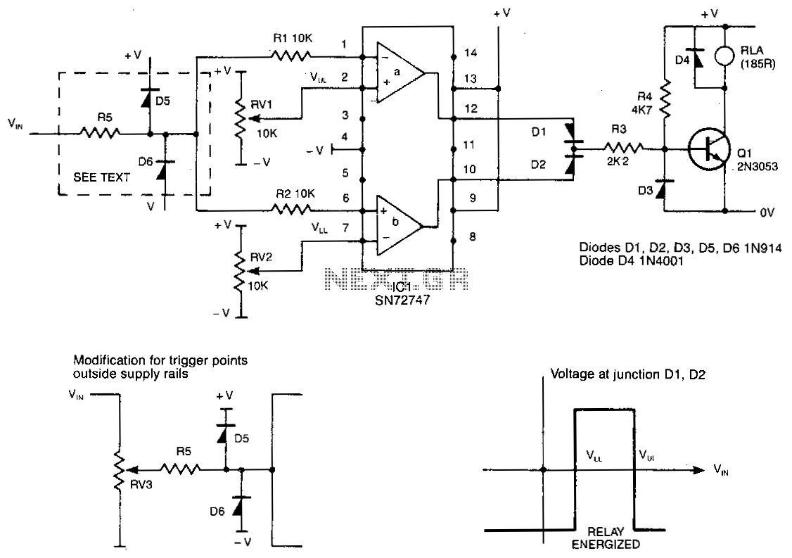Window-detector - schematic