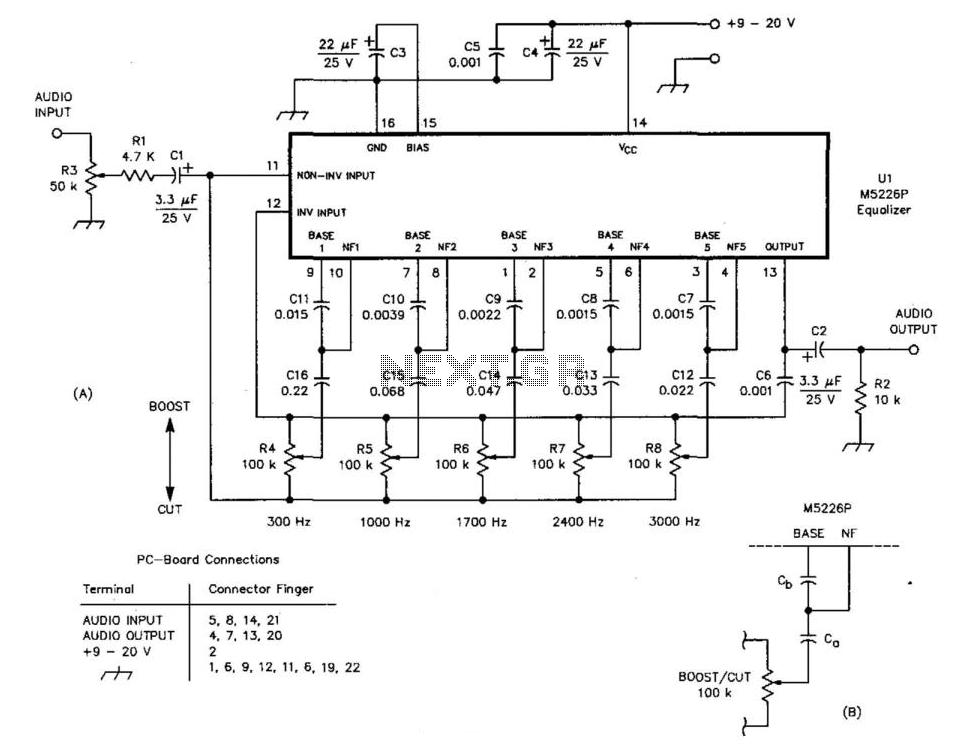 audio equalizer circuit equalizer car audio install diagram led equalizer  circuit equalizer circuit design equalizer circuit