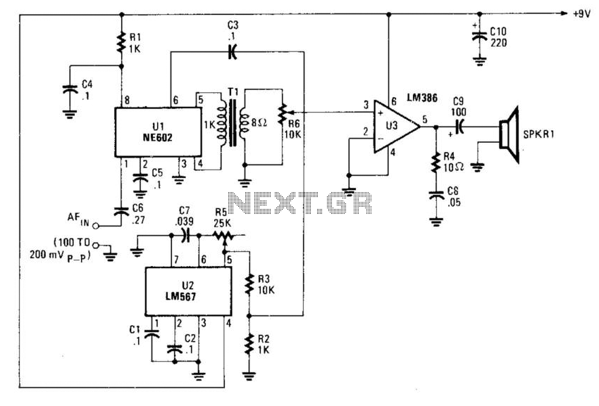 Voice Scrambler/Descrambler - schematic