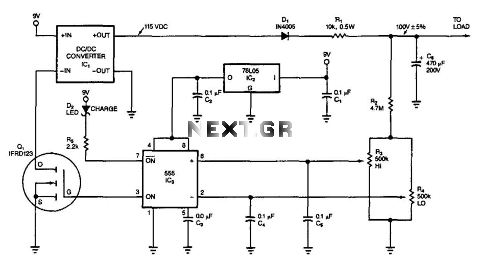 Power-Saving Intermittent Converter