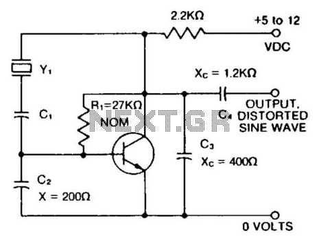150 To 30000Khz Oscillator - schematic