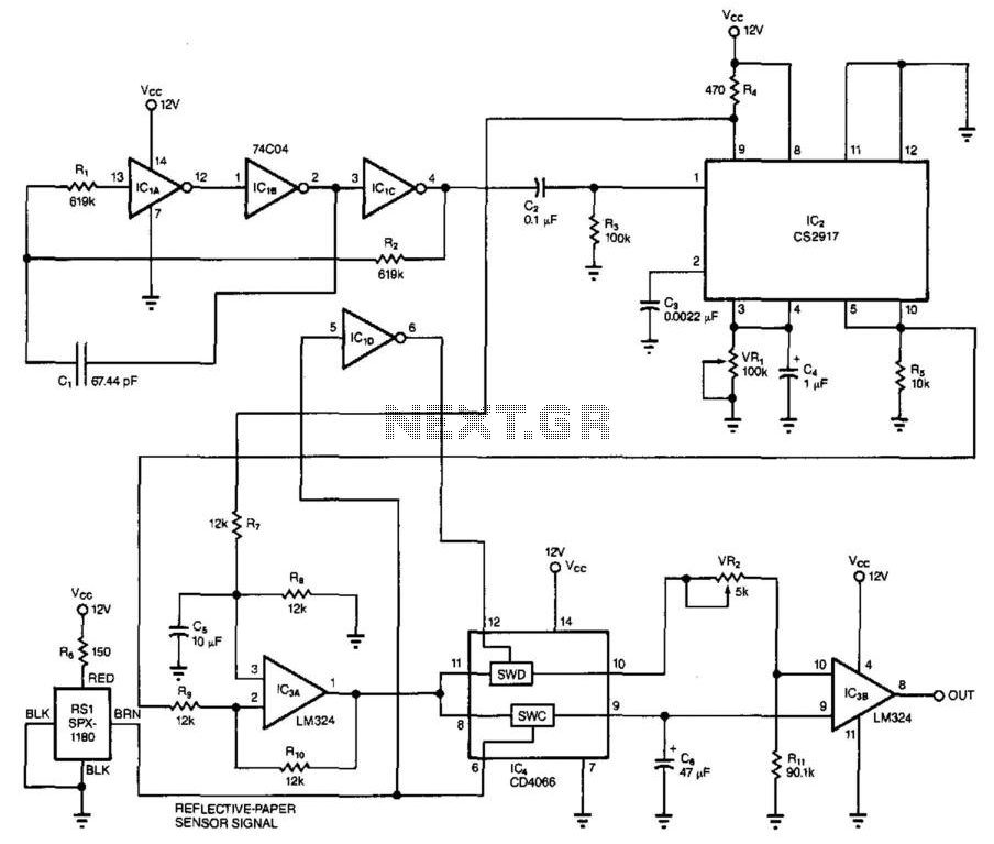 Two-Sheets Detector - schematic