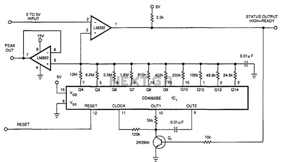 Peak Detector - schematic