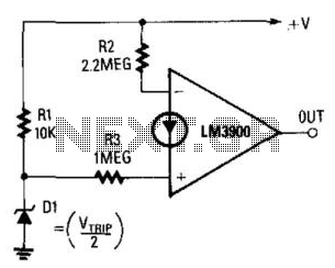 Undervoltage Detector - schematic