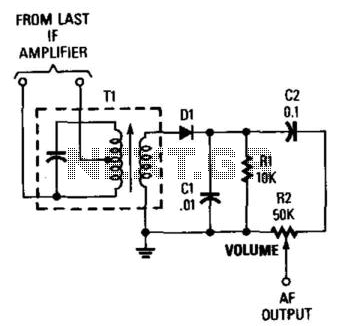 Am Envelope Detector - schematic