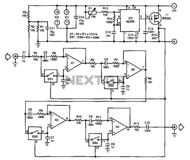 audio filter circuit Page 2 : Audio Circuits :: Next gr