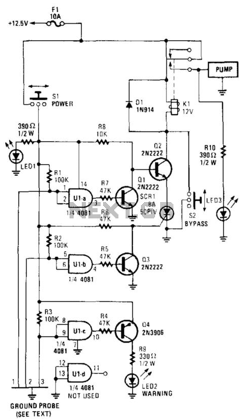 Water-Level Control - schematic