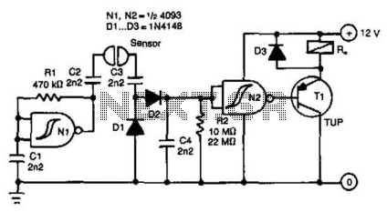 Liquid-Level Sensor - schematic