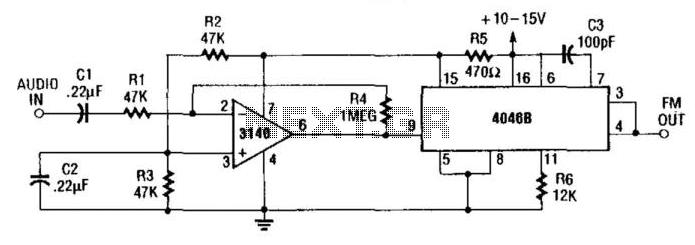 Fm Generator - schematic