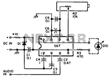 Visual Cw Offset Indicator - schematic