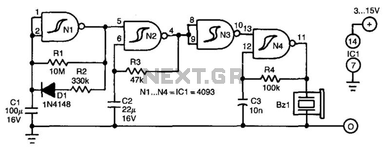 On Indicator - schematic