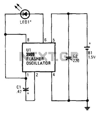 Simple Ir Transmitter - schematic