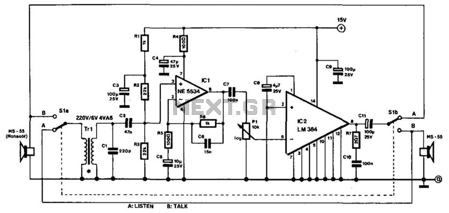 135 10664 telephone \u003e intercom circuits \u003e two wire intercom l14145 next gr telephone intercom wiring diagram at n-0.co