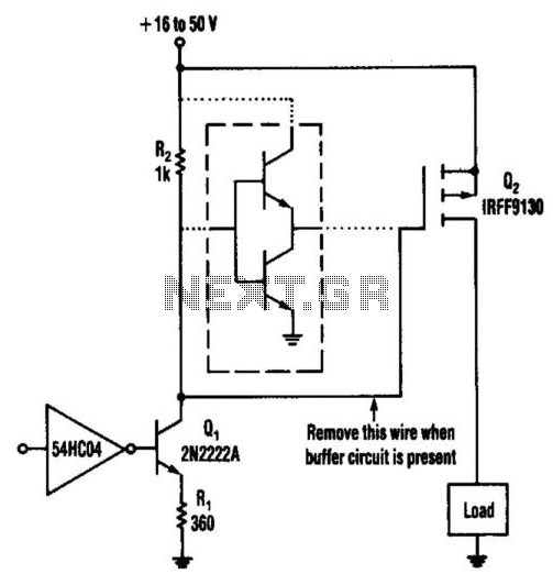 Low-Level Power Fet Driver Method