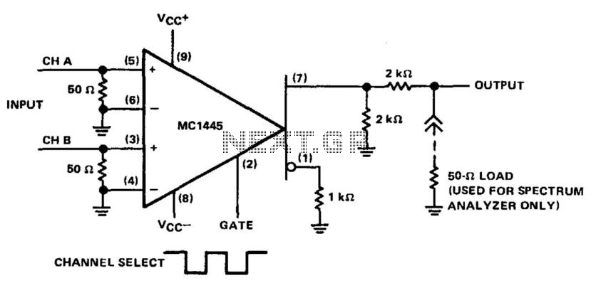 Frequency Shift Keyer - schematic