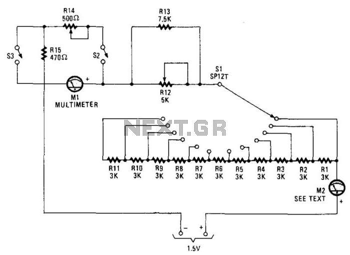 Meter Tester - schematic