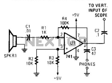 Acoustic Sound Receiver - schematic