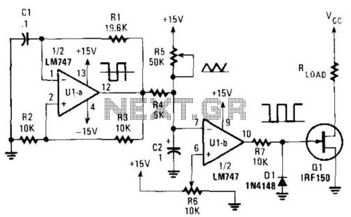 Pulse-Width Modulator - schematic