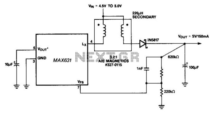 Long-Line Ir Drop-Voltage Recovery - schematic