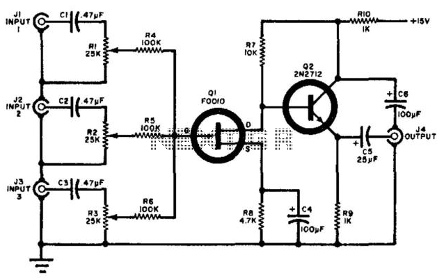 audio mixer   audio mixer circuits