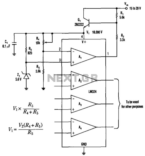 Op Amp Regulator