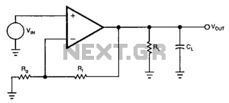 Increased Feedback-Stabilized Amplifier - schematic