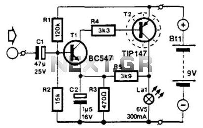 Light Transmitter - schematic