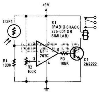 Light Detector - schematic