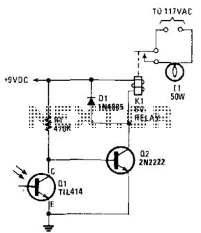 Simple Photoelectric Light Controller
