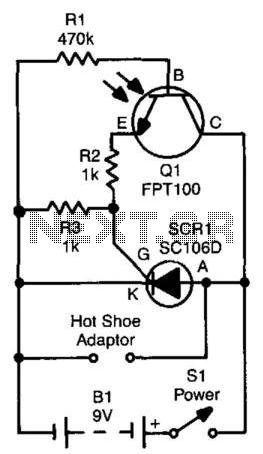 Slave Flash Trigger - schematic