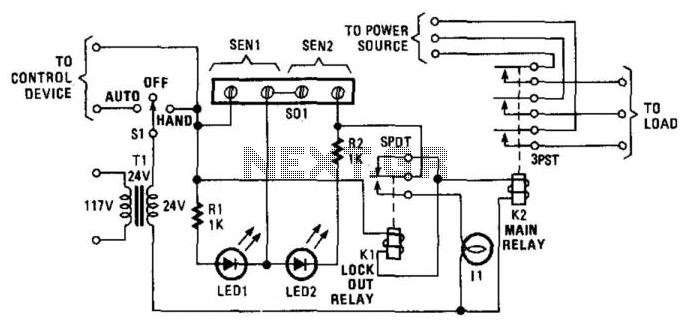 Universal Power Controller - schematic