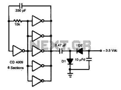 Auxiliary Negative Dc Supply - schematic