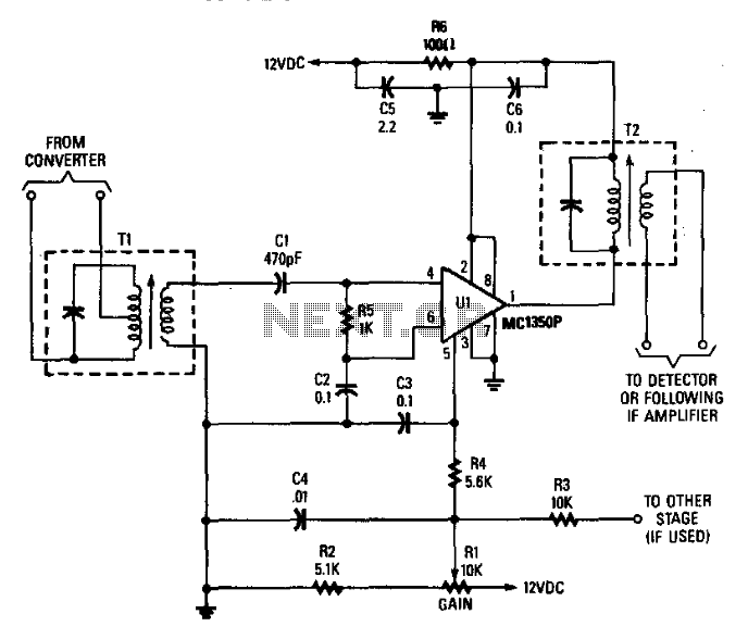 Receiver If Amplifier - schematic