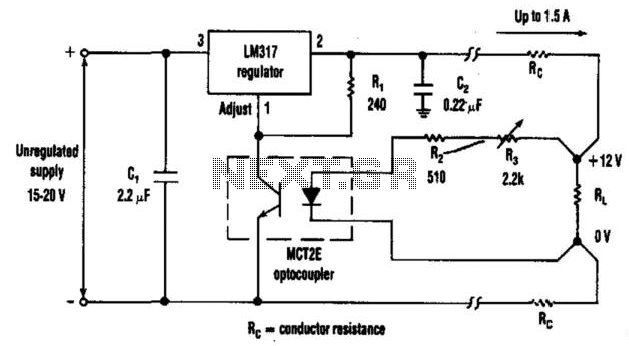 Quick view of Lm317 Regulator Sensing