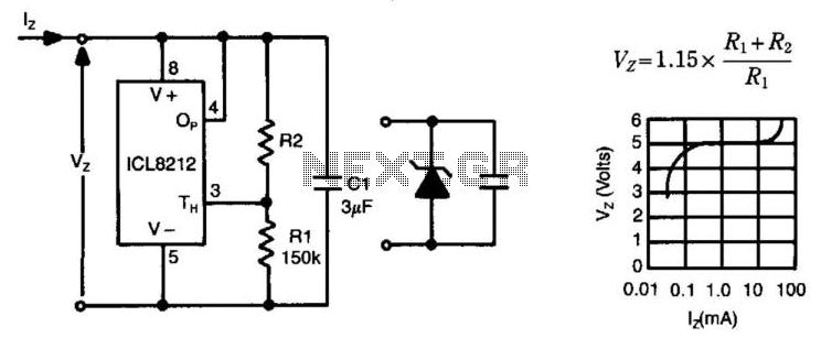 Programmable Zener - schematic