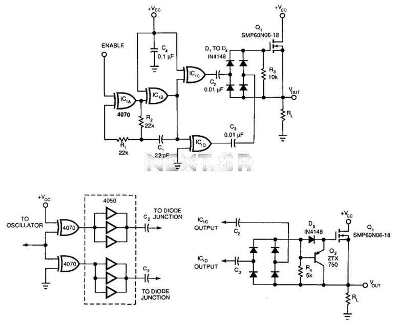 solid-state relay under relay circuits