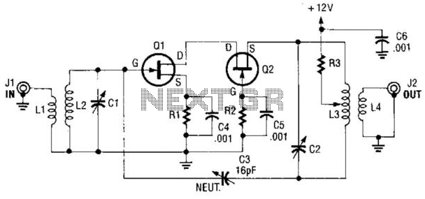 rf amplifier circuit page 2   rf circuits    next gr