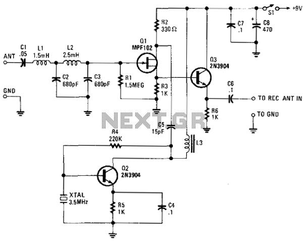 Vlf Converter - schematic
