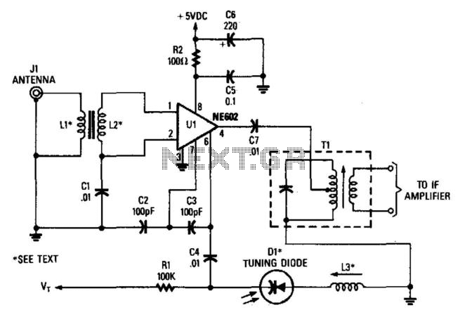 Receiver Frequency-Converter Stage