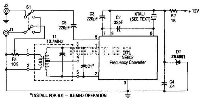 Shortwave Converter For Am Car Radios - schematic