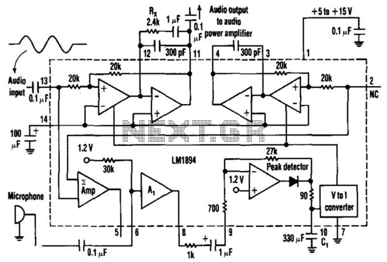 Gain-Controlled Amplifier