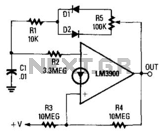 variable frequency generator circuit 555 variable